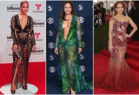 25 Mal schlug Jennifer Lopez den roten Teppich mit ihrem Sinn für Mode