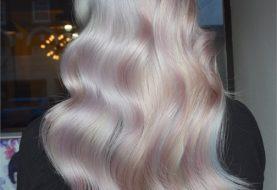 FORMEL: Prismatische Haarfarbe mit weißem Opal