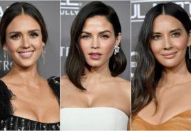 Jessica Alba, Jenna Dewan und Olivia Munn trugen den gleichen Lippenstift auf dem roten Teppich