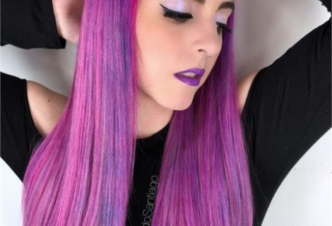 HOW-TO: Pink, Magenta and Purple Sponge Color