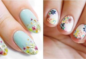 25 Super Pretty Floral Nail Designs