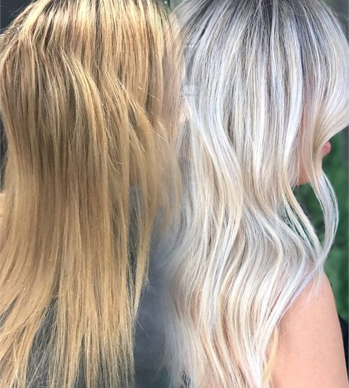 MAKEOVER: Blah Blonde to Bright Ice