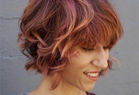 Pflegeleichter Regenbogen-Sorbet-Haarfarbe