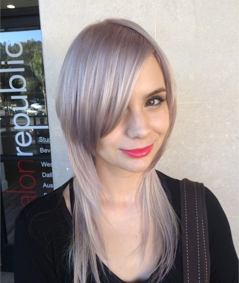 Pearl Jam: How to Achieve This Icy Ultra Violet Haircolor