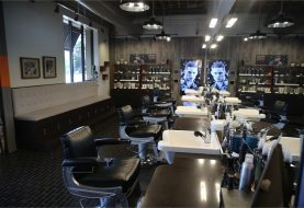 Salon Tour: Aveda Men's Grooming Shop