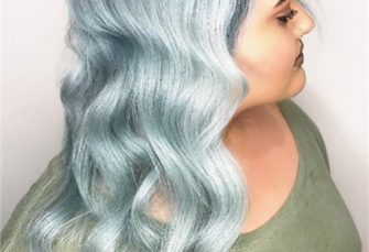 """Mad About Metals: """"Root Smudge"""" Silver Metallic Hair Color"""