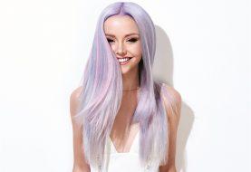 HOW-TO: Perlmuttviolette und errötete Haarfarbe