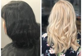 10 Jahre Black Box-Farbe für schöne Blondine