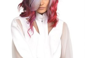 "HOW-TO: ""Unicorn Dreams"" Vibrant Red and Lavender Hair Color"