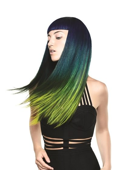 """HOW-TO: Navy Blue to Lime Green """"After Dark"""" Colormelt"""