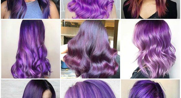 Ultraviolett: Wie Pantones Farbe des Jahres in Haarfarbe umgesetzt wird