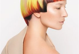 HOW-TO: Haarfarbe bei Sonnenuntergang auf einem Präzisionsschnitt