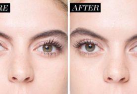Ich habe Audrey Hepburns Amazing Eyelash Trick ausprobiert
