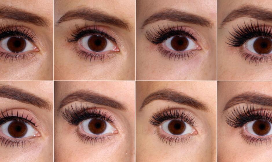 What 100 Different False Eyelashes Look Like on 1 Eye