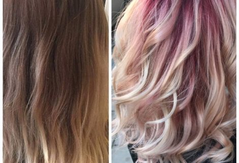 HOW-TO: Rose Gold Color Melt