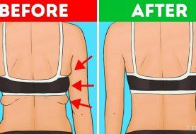 10 Übungen zur Entfernung von Rücken- und Achselhöhlenfett in 20 Minuten