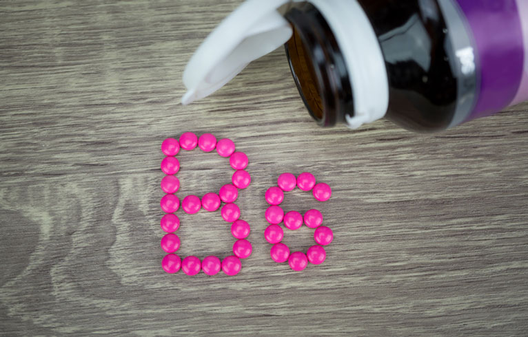 Vitamin B6 für Akne