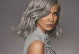 HOW-TO: Smokey Silver Hair Color With a Futuristic Feel