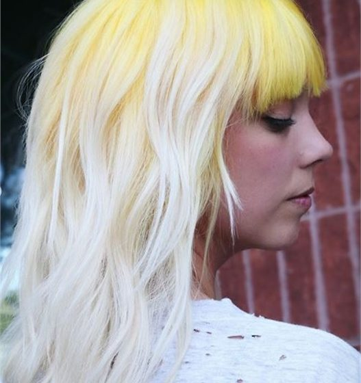 Get the Look: Platinum with a Punch of Yellow Using Matrix SoColor Cult