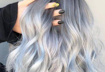 Grauer Balayage ist die clevere neue Art, silbernes Haar zu tragen, und wir sind drin