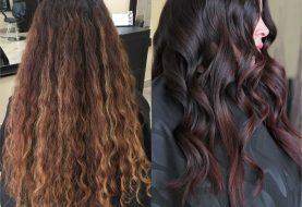 Haarfarbe Makeover: Kühlen Sie ab