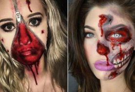 23 kreative DIY Halloween Make-up-Ideen