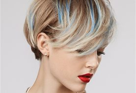 Hair Makeup How-To: Holiday Hair Color Accessory