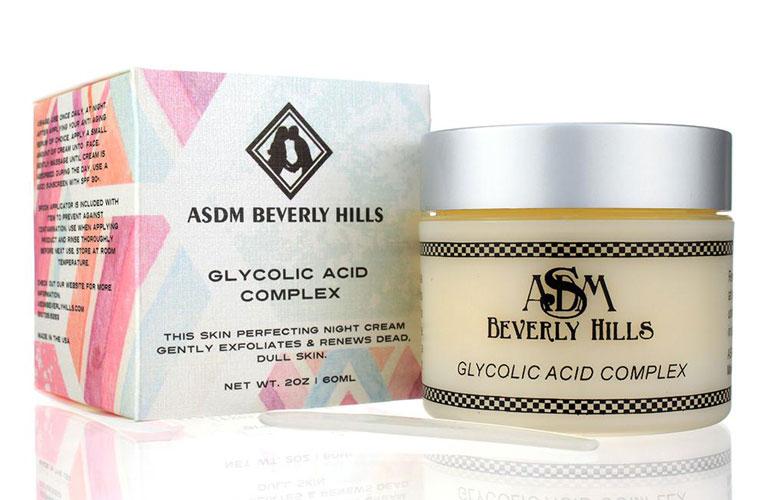 Verwenden von Glykolsäure zur Behandlung von Akne