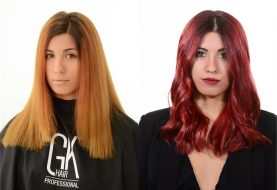 MAKEOVER: Brassy to Bombshell with the GKhair Red Red Masque